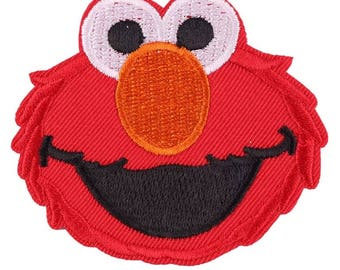 Elmo Iron On Patch