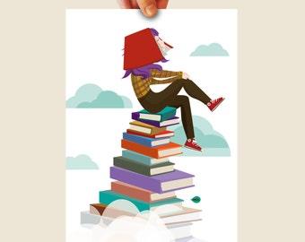 head book - book girl