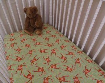 Baby Crib Or Toddler Bed Fitted Flannel Sheet