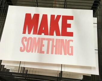 Make Something poster