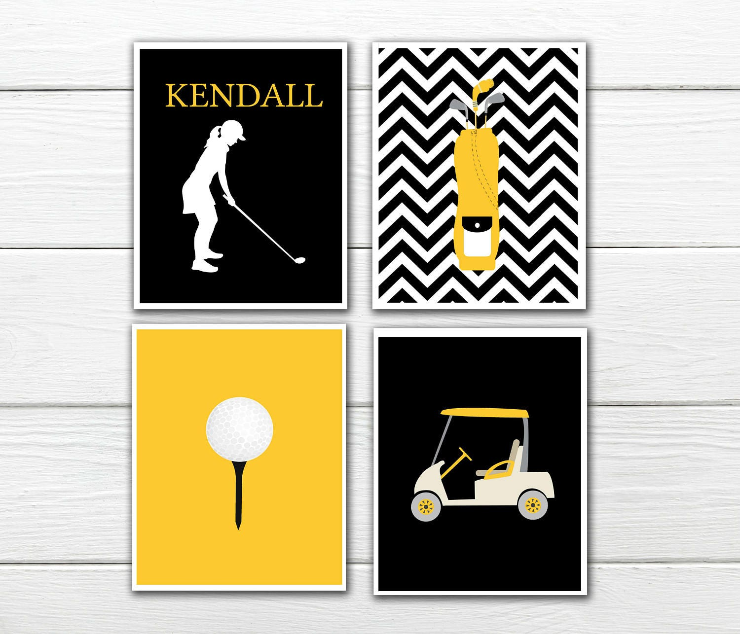 Enchanting Golf Themed Wall Decor Composition - All About Wallart ...