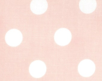 Dottie Polka Dots fabric | Baby Pink 45008 20 | Cotton Quilting fabric