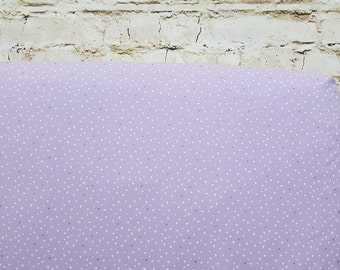 100% Cotton Crib Sheet Lilac Triangles Toddler Baby Fitted Nursery Bedding