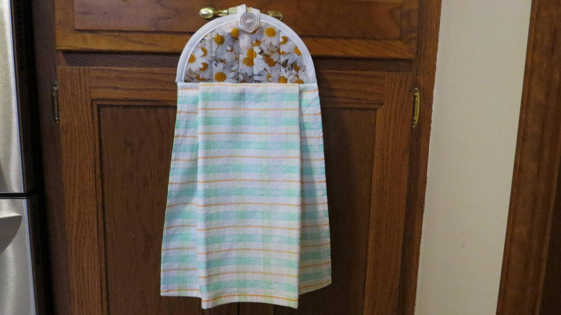 Kitchen Towel Daisy Dish Towel Hanging Kitchen Towel Hanging