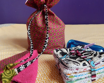 All Kit toiletry bag and wipes, eco-friendly gift