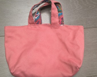 Kids reversible tote bag