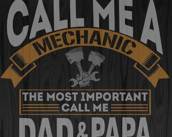 Mechanic Dad SVG