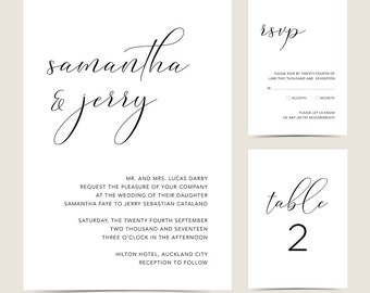 Number 3 | From Maddy with love - Wedding Set