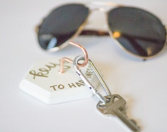 Keys to Happiness Key Holder