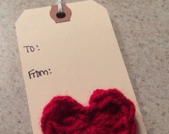 Heart To/From Gift Tag