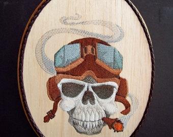 Skull Man Cave Decor : Skull series vinyl laptop car man cave wall decal