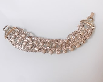 Vintage Silver Strand 70's Bracelet
