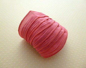 Ribbon color No. 990 hand dyed silk