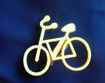 Vintage Bike Pins- Lemon or Lime