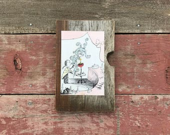 1963 Dr. Seuss, ABC | Peace by Piece Reclaimed Wood Children's Book Illustration Wall Art | Vintage Picture Frame
