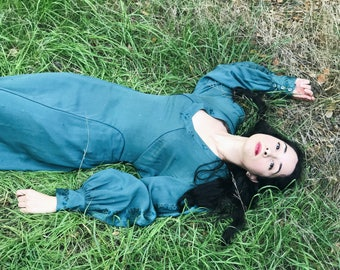 The Green Sleeves Gown
