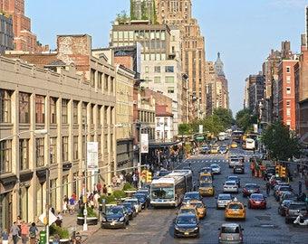 Meatpacking District, New York City, W 14th St, Street Scene, Manhattan, Wall Art, Home Decor, New York Photography, Fine Art Print