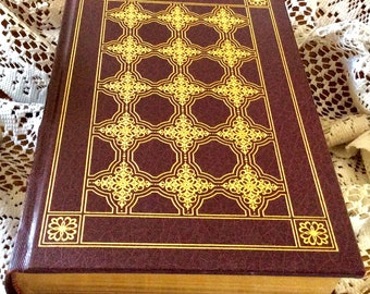 FRANKLIN LIBRARY Vanity Fair by William Makepeace Thackeray 1981 HC with gold gilt page edges..Beautiful Book
