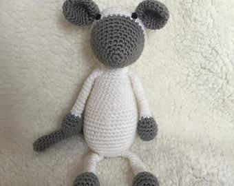 Amigurumi crochet pattern mouse