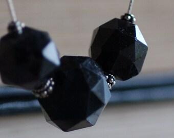 Dark Purple Garnet Necklace