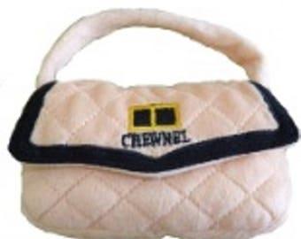 Chewnel Handbag Plush Dog Toy