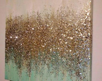 Glitter Painting Etsy