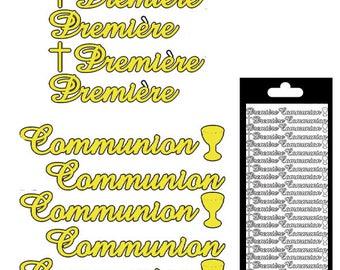 First Communion - gold matte - STI276600