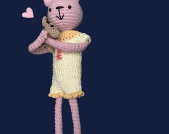 Bunny love amigurumi