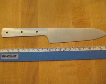 """Kitchen Knife Blank 6"""" Santuko. Fully hardened and sharpened 440C Stainless"""