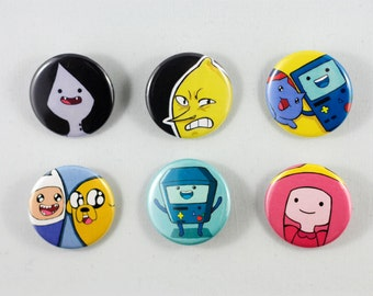 Adventure Time (& catbug!) Button/Pins