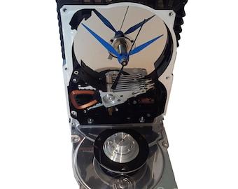 Sale! Hard Drive Clock, Unique Shape Clock. Got Office Gift Clock, Geek Friend Clock, Geek Gift Clock, Novelty Clock, Cool Clock, Geek Decor