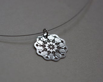 Ice flower chain Stainless steel