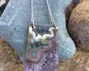 Sale - Amethyst Necklace