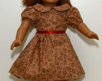 Holiday Dress for 18 Inch Dolls