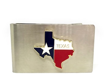 State of Texas Money Clip – Color