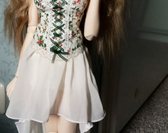 BJD 1/3 outfit Feeple65 Corset and skirt