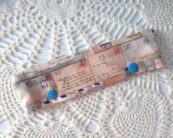 """Vintage Postcard DPN Cozy for 6-7"""" Knitting Needles and Perfect for Circulars!"""