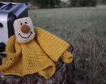 Master's Blanky **Crochet Pattern**  Lovey Security Blanket