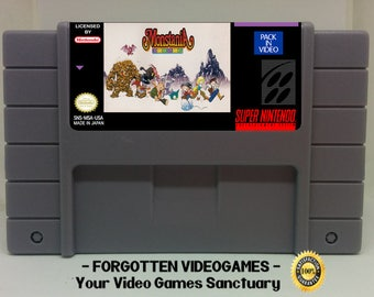 Monstania -  English Translation  - SNES Super Nintendo