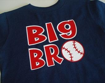 BIG BRO baseball t shirt