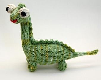 Mon Dinosaure Knitted Amigurumi Dinosaur Plush Pattern