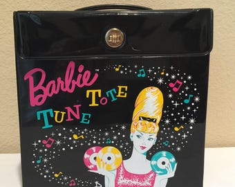 Barbie Tune Tote 45 Record Case From 1996 Barbie Convention