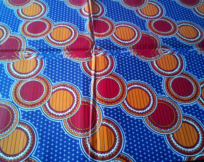 1 YARD African Ankara Java Fabrics Print For Craft Making Dresses Skirts/Cotton Fabric/Kitenge Pagnes Chitenge/Traditional African Print