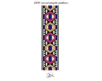 peyote pattern aztec summer bracelet