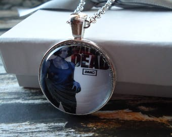 Walking Dead Maggie Silver Necklace - Walking Dead, Rick Grimes, Zombies, Walkers, Apocalypse, Maggie Greene