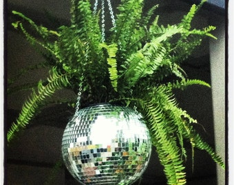 Disco Ball Plant Hangers