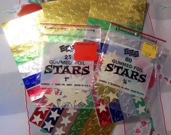 eureka foil stars