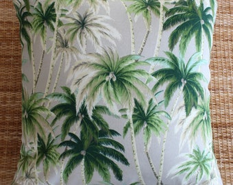 palm tree tropical outdoor cushion