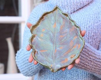 Leave Ceramic Tray
