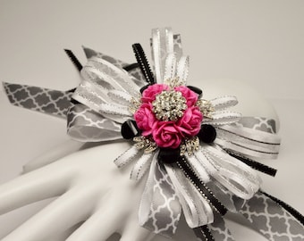 Brooch Wrist Corsage for Prom or Bridesmaids